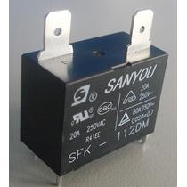 Relevador Original Relay Sfk 112dm Sanyou Minisplit Mayoreo