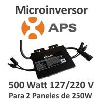Microinversor 500w 127/220v Interconexion Con Cfe 2 Paneles