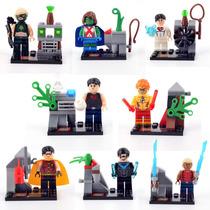 Set Young Justice Jovenes Justicieros Compatibles Con Lego