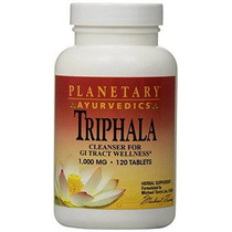 Planetary Herbals Triphala 1000 Mg Ayurvédica 120 Conde