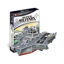 Rompecabezas 3d Puzzle Cubicfun Porta Aviones Militar Gaulle