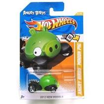 Angry Birds Minion Verde Cerdo Hot Wheels 2012 Nuevos Modelo