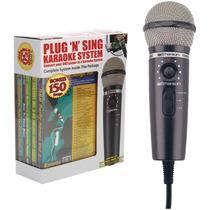 Tm Microfono Emerson Plug/play Karaoke System 150 Canciones