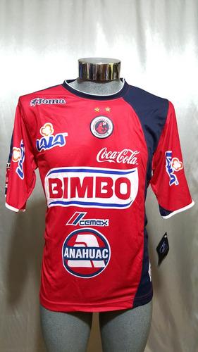 Jersey Tiburones Rojos Veracruz 2004 Joma Superliderato 5de6720d85db8