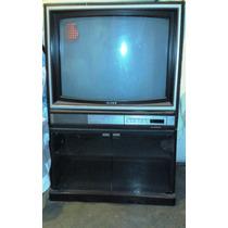 Tv Sony Crt 29 Trinitron Con Mueble Base Original