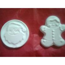 Navidad Figuras De Yeso Para Colgar