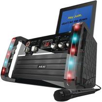 Tm Kareoke Akai Ks-213 Cd+g Player With Ipad Cradle