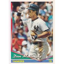 1994 Topps Don Mattingly 1b Yankees