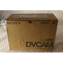 Caja De Cassettes Dvcam Pdv-64n Sony Nuevos