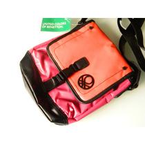 Benetton Sport Bag O Mochilita Simplemente Padrisima