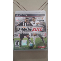 Video Juego Playstation Pes 2012 Pro Evolution Soccer ***