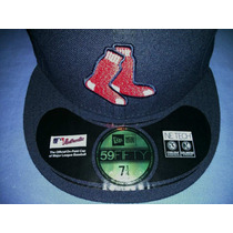 Gorra New Era 59fifty Boston Red Sox Oficial Juego Vbf