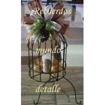 Jaulas Decorativas Vintage Centros De Mesa Boda Bautizo Xv