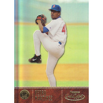 2001 Topps Gold Label Pedro Martinez P Red Sox