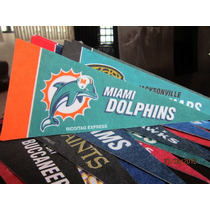 Casco Nfl Pocket Revolution Y Banderin Nfl Miami Dolphins