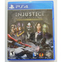 Injustice Para Playstation 4, Ps4
