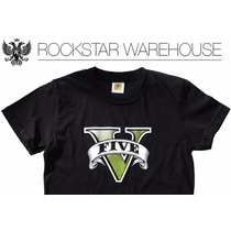 Playera Original Gta V Xbox One Ps4