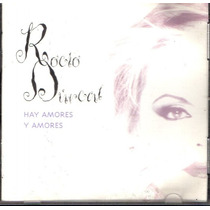 Cd Importado De Rocío Durcal: Hay Amores Y Amores 1995