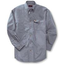 Tm Camisa Beretta Shirt Tm Shooting, Chambray, Small L