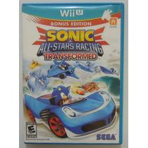 Sonic All Star Racing Transformed Para Nintendo Wii U