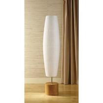 Pilares De Bambú Lámpara De Pie Natural