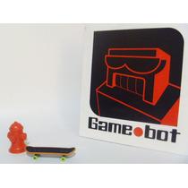 Gamebot Hidrante Y Patineta Para Diorama Accesorio Maqueta
