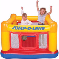 Brincolin Inflable Infantil Playhouse Jum-o-lene Intex