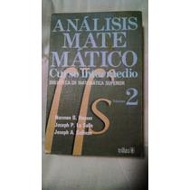 Libro - Análisis Matemático Curso Intermedio