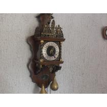 Reloj Antiguo Vintage Europeo Holandes Funcionando Hermoso