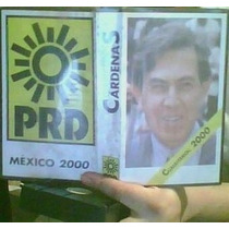 Video Vhs Cuauhtemoc Cardenas 2000.prd.