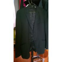 Saco Negro Zara Man Talla 40