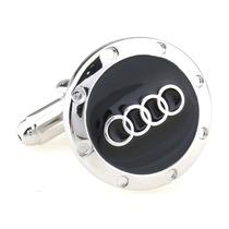 Mancuernillas Audi Logo Automovil Camisa Traje Gemelos