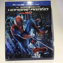 Amazing Spider-man Hombre Araña 3d Bluray/dvd Envío Gratuito