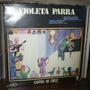 Violeta Parra 2 Lp Album Cantos De Chile Hecho En Francia