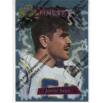 1995 Finest Junior Seau San Diego Chargers