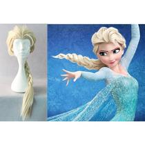 Disfraz Vestido Peluca Frozen Anna Y Elsa Niña Y Adulto
