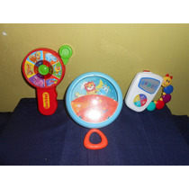 Lote 3 Juguetes Didacticos Baby Einstein Infantino