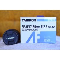 Tamron 17-50mm 2.8 Di Sp Af Ld Motor De Enfoque Para Nikon