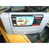 King Of The Monsters Super Nintendo Snes Cartucho