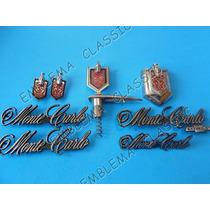 Emblemas Chevrolet Montecarlo Austero Kit