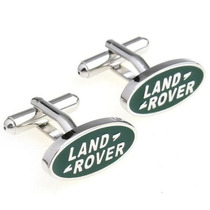 Mancuernillas Land Rover Logo Automovil Camisa Traje Acero