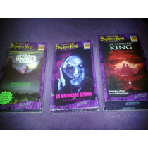 Stephen King Lote Vhs / Rose Red, Thinner, Salem´s Lot 2