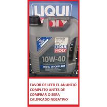 Aceite Sintético Liqui Moly Mos2 Leichtlauf 10w 40