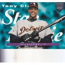 1995 Upper Deck Electric Diamond Star Rookie Tony Clark Det