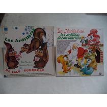 Las Ardillitas De Lalo Guerrero 2 Lps De Navidad Coleccion