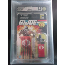 Cobra Commander Gi Joe 25th Anniversary Sdcc 2008 Afa 9.0