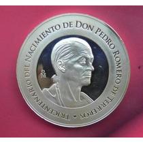 Medalla Nacimiento De Don Pedro Romero Mexico Plata