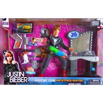 Muneco Y Equipo De Justin Bieber Set De Su Concierto Mod 2