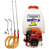 Mochila Aspersora Takashi Para Liquidos 25 Lts Motor 31cc