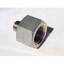 Conector Roscado Npt Inox Hexagonal 304 1/2 X 3/4